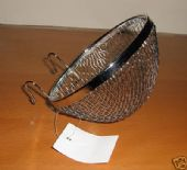 KLEIN METAL / WIRE BIRD NEST / PAN - LARGE 11.5.cm x 6.5cm